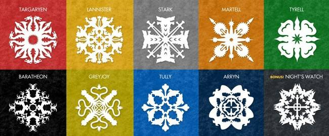 Vía: http://www.kryshiggins.com/free-game-of-thrones-inspired-snowflake-patterns/