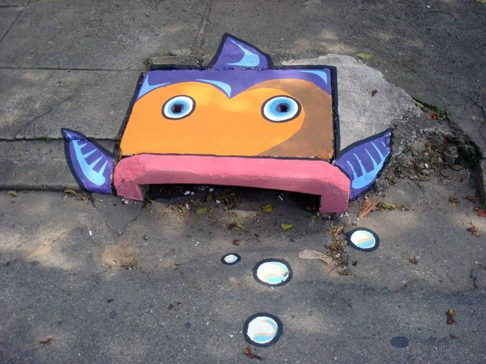 Beautified Storm Drains por Anderson Augusto and Leonardo Delafuente - Brazil 2