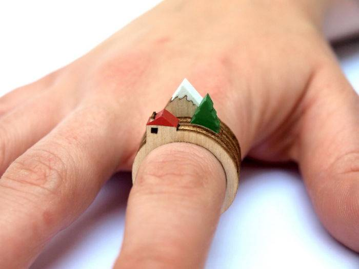 25 Super-creative Rings That You Fall In Love To | Ideas - Tinoshare.com - Blogowebgo.com