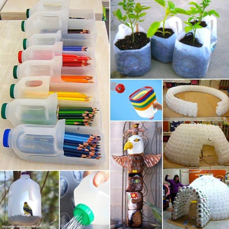 25 ideas para convertir la basura en algo til y hermoso for Creative things to do at home out of waste