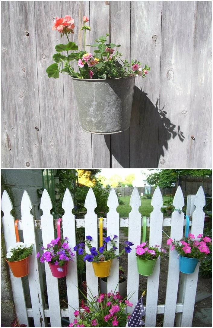 10 ideas para decorar la valla de tu jard n - Como decorar mi jardin ...