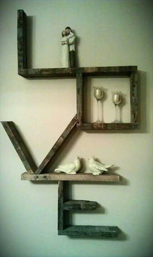 20 ideas para decorar tu hogar con pallets reciclados