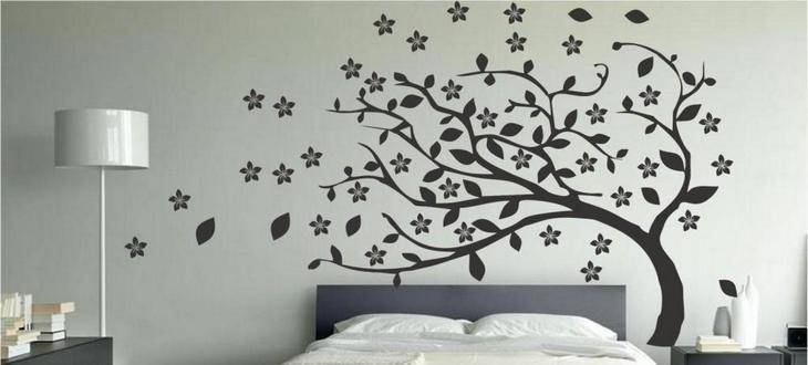 25 sorprendentes ideas para pintar tus paredes blancas for Ideas para decorar las paredes de mi cuarto