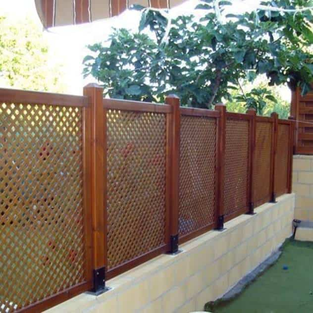 Vallas metalicas para jardin top anself jaula metlica - Vallas metalicas para jardin ...